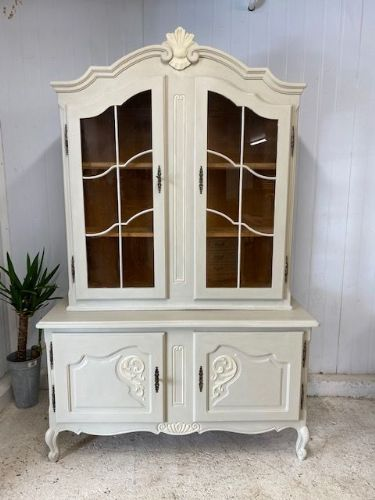 Lovely Vintage Louis VX Style Display Cabinet  - b63